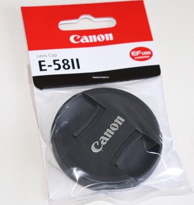 キャノン レンズキャップ E58Ⅱ